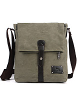 Unisex PU Canvas Sports Casual Outdoor Office & Career Professioanl Use Messenger Bags
