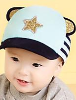 Kid's Cute Cotton  Pink/Bule/Red/Black  Aliens Eyes  Peaked  From 6 To 18 Months