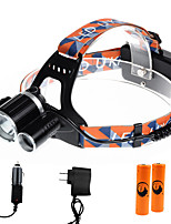 U'King ZQ-X819C-EU CREE XM-L T6/2*R5 Headlamp 5000LM LED 4 Mode for Camping Hiking Bike Outdoor UV light