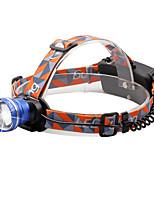 Налобные фонари 2000 Люмен 3 9 Режим Cree XM-L T6 18650 Фокусировка Компактный размерПоходы/туризм/спелеология Повседневное использование