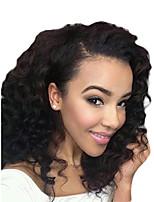 1PC TRES JOLIE Deep Wave 10-20Inch Color #1 Dark Black Human Hair Weaves
