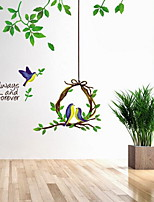 Florals Basket of Plants Wall Sticker Wall Stickers Vinyl Material Home Decoration