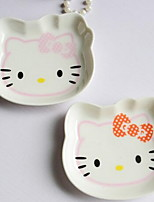 Ceramic Dinner Plate Dinnerware with High Quality Hello Kitty Dishes Large Size 1pcs