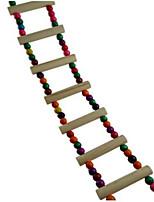 птица Лестницы и помосты Дерево Разноцветный