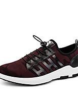 Для мужчин-Для прогулок Повседневный Для занятий спортом-Тюль Дерматин-На плоской подошве-Удобная обувь-Спортивная обувь