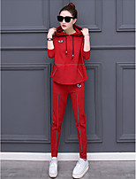 Leisure suit female spring 2017 Spring new Korean fashion sportswear two-piece long-sleeved pants tide