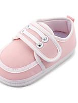 Синий Розовый-Дети-Для прогулок Повседневный-Полиуретан-На плоской подошве-Обувь для малышей-На плокой подошве
