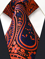 P18    Mens Ties Gray Multicolor Paisley New Fashion Wedding Dress For Men