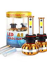 2017 New 9012 60W 6400LM LED Headlight Kit COB chip 6000K 8000K Bulbs lamps Light Pair
