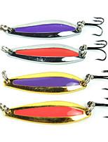 4 штук Жесткая наживка Случайный цвет 0.0116 г Унция мм дюймовый,Металл Обычная рыбалка
