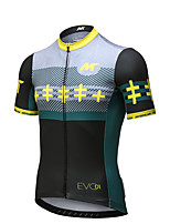 Mysenlan Cycling Jersey Men's Short Sleeve Bike Breathable Quick Dry Jersey Polyester Fashion Summer