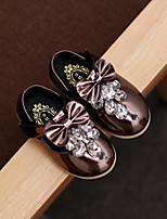 Розовый Темно-лиловый: Светло-коричневый-Дети-Для прогулок Повседневный-Дерматин-На плоской подошве-Удобная обувь-На плокой подошве