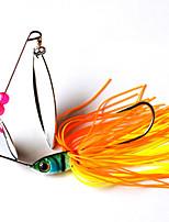 2 pcs Hard Bait Random Colors 16.3 g Metal Plastic General Fishing