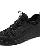 Men's Athletic Shoes Spring Summer Light Soles PU Outdoor Office & Career Athletic Casual Flat Heel Lace-up Running