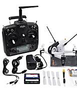 Drone WALKERA 6Canaux 3 Axes 5.8G Avec Caméra HD Quadri rotor RC Contrôler La Caméra Avec CaméraQuadri rotor RC Caméra Télécommande Câble