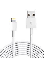Lightning USB 2.0 Cordon Câble de Charge Câble de Chargeur Données & Synchronisation Normal Câble Pour Apple iPhone iPad 300 cm TPE