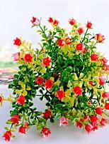 1 Филиал Пластик Другое Букеты на стол Искусственные Цветы 15*15*23