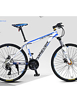 Mountain Bike Cycling 30 Speed 26 Inch/700CC Oil Disc Brake Suspension Fork Aluminium Alloy Frame Ordinary/Standard Anti-slip Aluminium