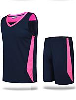 Unisex Fußball Kleidungs-Sets/Anzüge Atmungsaktiv Schweißableitend Komfortabel Frühling Sommer Herbst Winter einfarbig Polyester