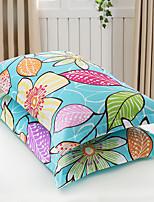 Floral Conjunto de Capa de Edredão 2 Peças Algodão Poliéster/Algodão Estampa Impressão Reactiva Algodão Poliéster/Algodão Tamanho grande