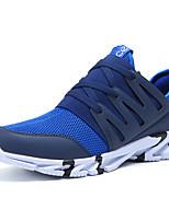 Черный Синий Черный/Красный-Для мужчин-Для прогулок Повседневный Для занятий спортом-Тюль-На плоской подошве-Удобная обувь Туфли