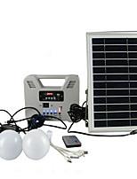 pequenas luzes solares pátio com multi-função de pequeno rádio solares