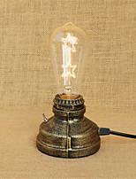 8 Rustiek/landelijk Noviteit Bureaulamp , Kenmerk voor LED , met Beschilderd Gebruiken Aan/uit knop Schakelaar