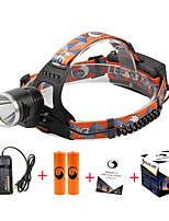U'King ZQ-X8000#-US Cree XM-L T6 LED 2000LM 3 Mode Headlamps for Camping/Hiking/Caving Everyday Use Cycling/Bike Hunting Traveling Multifunction