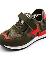 Черный Зеленый РозовыйДля прогулок Повседневный Для занятий спортом-Тюль-На низком каблуке-Удобная обувь Обувь для малышей Светодиодные