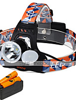 UKing ZQ-X851E-US CREE XML T6 /2*LED Headlamp 4 Mode 6000ML Lumens for Camping/Hiking/Caving Everyday Use Cycling