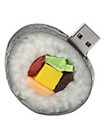 disco flash drive USB 2.0 borracha sushi 128gb