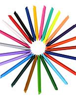 24 Colors Plastic Crayons 1 Set of 24 PCS