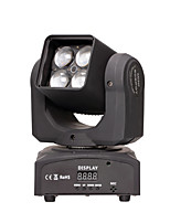 U'King® 80w RGBW 4 in 1 LED Moving Head Stage Effect Light 14/ 16CH DMX Sound Modes 1pcs
