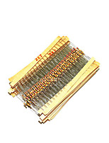 1500 Pieces 75 Specifications Each 20 Carbon Film Resistors 1/4W 5%