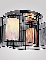 Flush Mount ,  Modern/Contemporary Chrome Feature for LED Metal Living Room Bedroom Study Room/Office Kids Room Hallway