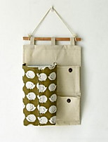 Storage Bags Textile withFeature is Open  For Cloth Hanging Storage Bag Paper Towel Box Random Pattern