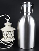 minimalismo Artículos para Bebida, 1700 ml Gran Capacidad Acero Inoxidable Cerveza Botellas de Agua