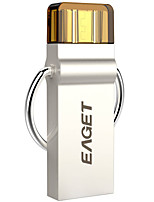 Eaget 2 in 1 32GB OTG USB 3.0 Flash Drive Silver