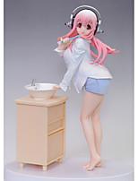 Anime Toimintahahmot Innoittamana Super Sonico Cosplay PVC 18 CM Malli lelut Doll Toy