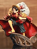 Figures Animé Action Inspiré par One Piece Monkey D. Luffy PVC 15 CM Jouets modèle Jouets DIY