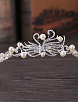 Alloy Imitation Pearl Headpiece-Wedding Tiaras 1 Piece