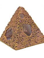 Aquarium Decoration Pyramid Ornament Non-toxic & Tasteless Resin