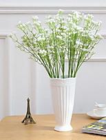 1 Une succursale Plastique Gypsophila Fleur de Table Fleurs artificielles 5*5*59