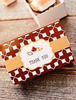 12 Piece/Set Favor Holder - Creative Card Paper Favor Box 8 x 5 x 3 cm/pcs Beter Gifts® Candy Box