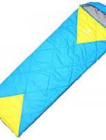 Спальный мешок Прямоугольный Односпальный комплект (Ш 150 x Д 200 см) -10--10 Пористый хлопок80 Походы На открытом воздухе