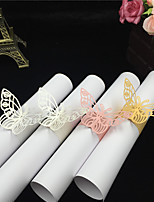 40Pcs/lots Hollow Butterfly Napkin Rings For Wedding/ Party /Table Decoration Party Favors Party Supplies Wedding Favors