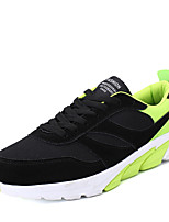 Men's Athletic Shoes Spring Summer Fall Winter Comfort PU Tulle Outdoor Athletic Casual Lace-up Running