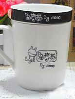 Desenho De Festa Artigos para Bebida, 250 ml Isolamento térmico Design Ergonómico Cerâmica Café Leite Copos Inovadores