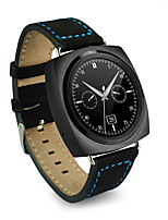 Smart watchfashion watchmetal& Leder Herzfrequenzmonitor android ios kompatiblen Chip Wristbanduhr