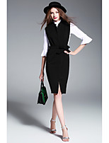 Sign # 2017 spring new fashion tide temperament Slim package hip ladies wear suits women even two